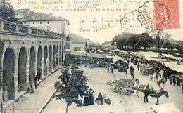 Tarn - Puylaurens - La Halle Et Le Marché - Puylaurens