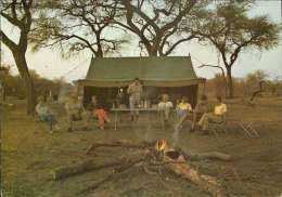 Abend Am Lagerfeuer Im Savuti Safari Camp - Botsuana