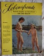 Ancienne Revue LEBENFREUDE Naturisme Femme Nue Homme Nu Nus Erotique Pin'up - Erotic (...-1960)