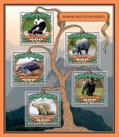 GUINEA BISSAU 2016 ** Endangered Animals Gorilla M/S - IMPERFORATED - A1648