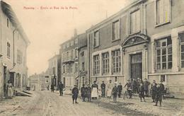 NOMENY - Ecole Et Rue De La Poste. - Nomeny