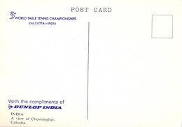 India. Caclcutta. 33rd. Table Tenis Championship. Chowringhee. - Table Tennis