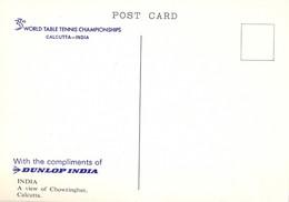 India. Caclcutta. 33rd. Table Tenis Championship. Chowringhee. - Tennis De Table