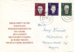 République Démocratique - Lettre De 1960 -  Oblitération Leipzig -
