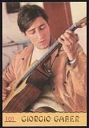GIORGIO GABER - ALBUM CANTANTI 1968 (210213) - Album & Collezioni