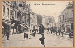 Belgium   VERVIERS Rue De La  Concorde  Tram  Bg283 - Verviers