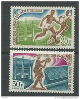 AFARS ET ISSAS N° 334 / 335 XX Sport : Footbal Et  Basket La Paire Sans Charnière, TB