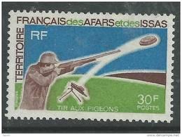Afars Et Issas N° 361 XX    Tir Aux Pigeons Sans Charnière, TB