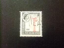 RHODESIA & NYASSALAND 1955 Antena Radio Yvert N º 20 º FU - Rodesia & Nyasaland (1954-1963)