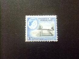 RHODESIA & NYASSALAND 1959 - 62 Tumba De Lord Cecil Rhodes Yvert N º 23 * MH - Rodesia & Nyasaland (1954-1963)
