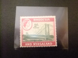 RHODESIA & NYASSALAND 1959 - 62 Puente De Chirundu Yvert N º 28 * MH - Rodesia & Nyasaland (1954-1963)