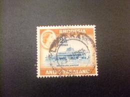 RHODESIA & NYASSALAND 1959 - 62 Aeropuerto De Salisbury Yvert N º 29 º FU - Rodesia & Nyasaland (1954-1963)