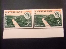 RHODESIA & NYASSALAND 1959 - 62 Gorges De Kariba Yvert N º 33 ** MNH - Rodesia & Nyasaland (1954-1963)