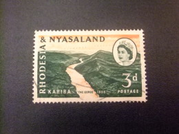 RHODESIA & NYASSALAND 1959 - 62 Gorges De Kariba Yvert N º 33 º FU - Rodesia & Nyasaland (1954-1963)