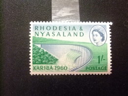RHODESIA & NYASSALAND 1959 - 62 Presa Y El Lago Yvert N º 35 * MH - Rodesia & Nyasaland (1954-1963)