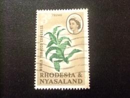 RHODESIA & NYASSALAND 1963 Planta De Tabaco Yvert N º 44 º FU - Rodesia & Nyasaland (1954-1963)