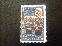 RHODESIA & NYASSALAND 1963 Expedición Yvert N º 46 º FU - Rodesia & Nyasaland (1954-1963)