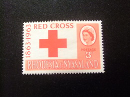 RHODESIA & NYASSALAND 1963 Cruz Roja Yvert N º 48 * MH - Rodesia & Nyasaland (1954-1963)