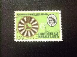 RHODESIA & NYASSALAND 1963 Conferencia Mundial De La Juventud Yvert N º 49 º FU - Rodesia & Nyasaland (1954-1963)