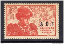 A. O. F. N° 23  XX Journée Du Timbre Louis XI Sans Charnière, TB