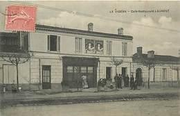 E-16-2967 : LE VIGEAN  CAFE RESTAURANT LAURENT - France