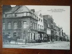 Le Cateau - Coin De La Rue De France Et La Grande Place - Le Cateau