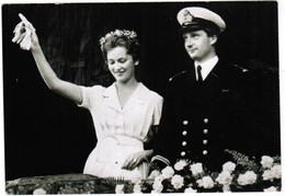 S.A.R. La Prince De Liège Et La Princesse Paola Ruffo Di Calabria (pk32037) - Royal Families