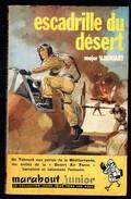 """"""" Escadrille Du Désert """", Par Le Major V. HOUART - MJ 168 - E.O. - Guerre Aérienne. - Marabout Junior"""