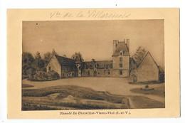 VIEUX-VIEL  (cpa 35)   Manoir Du Chattelier - Vieux - Viel -   - L 1 - Autres Communes