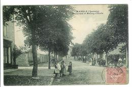 MANSLE - Boulevard Et Maison D'Ecole - Mansle