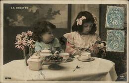 POUPEES - Fantaisie - Jouets - Fantaisie Enfants - Série De 5 Cartes - Dinette - Jeux Et Jouets