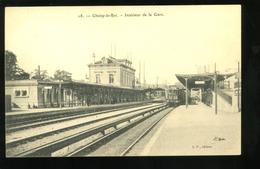 94 Val De Marne  Choisy Le Roi Intérieur De La Gare 1913 BF - Choisy Le Roi