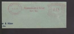 B 396) WUPPERTAL-BEYENBURG 1931 AFSt Hasenclever & Hüser Kom.-Ges.  (Eisengarn-Fabrik, Baumwoll-Garn) - Textil