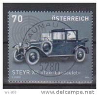 """Österreich 2012:   """"Autos"""" Gestempelt  (siehe Scan/Foto) - 2011-... Gebraucht"""