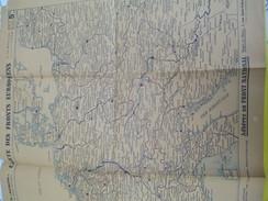 """Militaire/Carte Des Fronts Européens/ Le """"Patriote""""/Quotidien Lyonnais Du Front National/LYON/1942-1943        PGC120 - Cartes"""