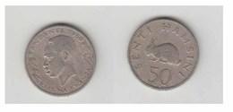 TANZANI - 50 SENTI 1966 - Tanzanie