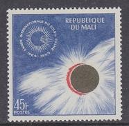 Mali 1964 International Quiet Sun Year 1v ** Mnh (34005N) - Mali (1959-...)