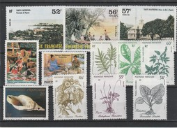 LOT 137 POLYNESIE  N°256-257-258-263-264-268-269-270-284-285-286-287 ** - Polynésie Française