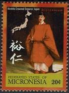 Mikronesien Micronesia 2000 - MiNr 960** - Hirohito Wird Zum Kaiser Von Japan Gekrönt (1928) - Koniklijke Families