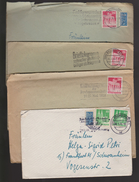B 405) BRD 4 MWSt Braubschweig: Landwirtschaftswoche, Unfall-Verhütung, Brief Telegramm, Funf Fernsprechen Südamerika - [7] République Fédérale