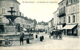 N°33208 -cpa Remiremont -la Fontaine De La Courtine- - Remiremont