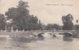 Jarnac 16 - Pont Du Château - Editeur Lebon - Jarnac