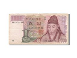 South Korea, 1000 Won, 1983, KM:47, Undated (1983), TB+ - Corée Du Sud