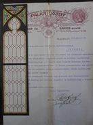Glasmalerei Kirche , Budapest, 1913 , Palka Josef - Historische Dokumente