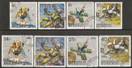 Burundi 1968 Mi# 401-408 A Used - Peaceful Space Explorations
