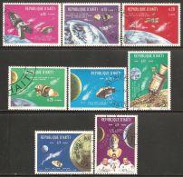 Haiti 1969 Mi# 1072-1079 Used - Apollo Space Missions