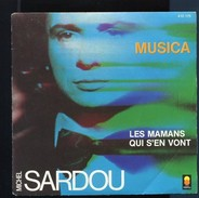 VINYLES :  45 T 2 TITRES MICHEL SARDOU Musica - Rock