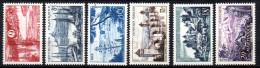 France   N° 1036 à 1041  Neuf  XX  MNH , Cote :   8,50 €  Au Quart De Cote - France