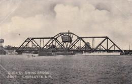 CHARLOTTE , New York , 1907 ; Swing Bridge - NY - New York