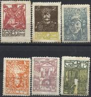 Mint Stamps Regular 1920 From Central Lithuania - Lithuania